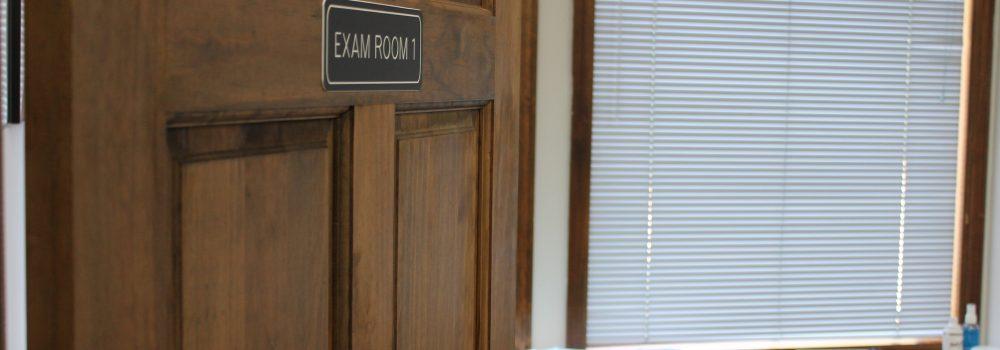 Private Exam Rooms